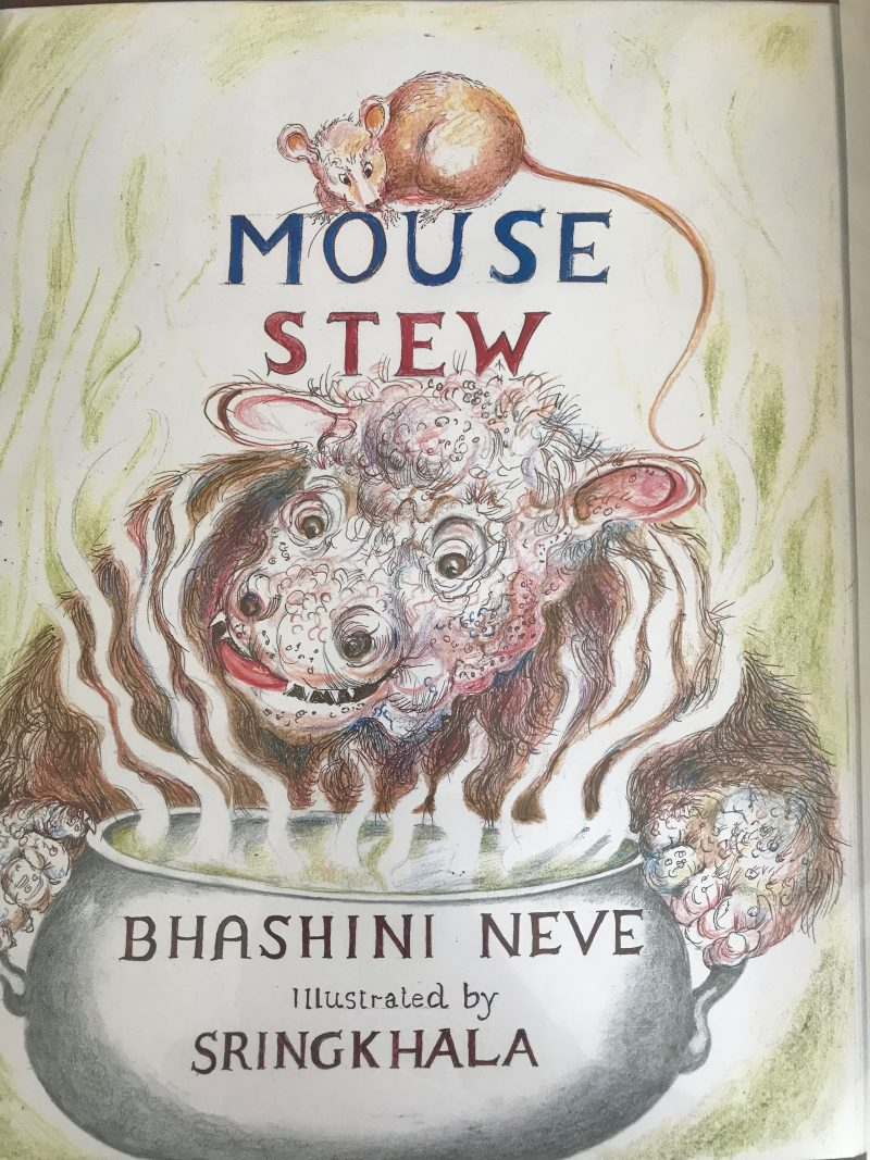 possible title page for Mouse Stew